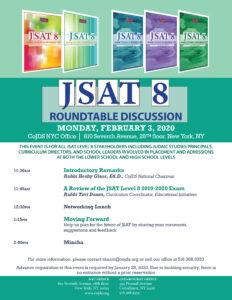 JSAT Level 8 2019-2020 Roundtable Discussion