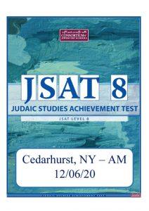 12/06/20 – JSAT Level 8: Cedarhurst AM Location