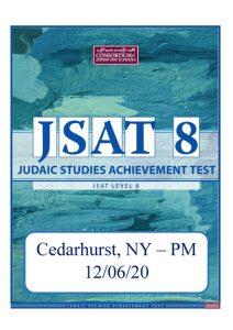 12/06/20 – JSAT Level 8: Cedarhurst PM Location