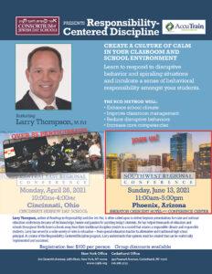 Southwest Regional Conference (Phoenix): Responsibility-Centered Discipline 06.13.21