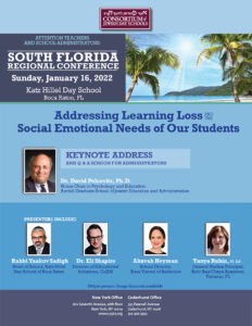 South Florida Regional Conference: Addressing Learning Loss and the Social Emotional Needs of Our Students  01.16.22